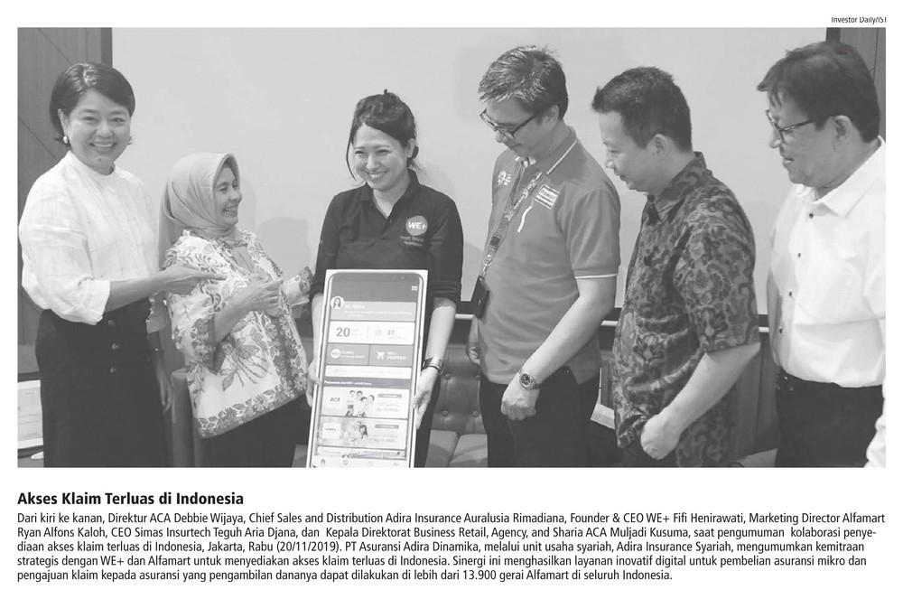 Akses Klaim Terluas di Indonesia