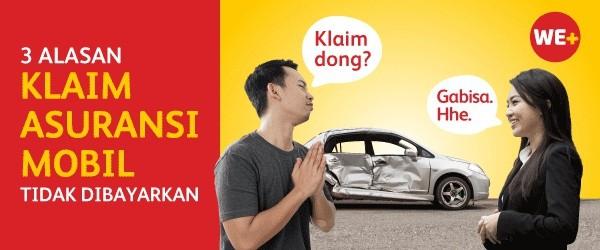 3 Alasan Klaim Asuransi Kendaraan Ditolak