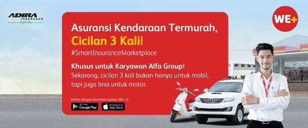 Khusus Kamu, Bisa Cicil Asuransi Kendaraan 3 Kali!