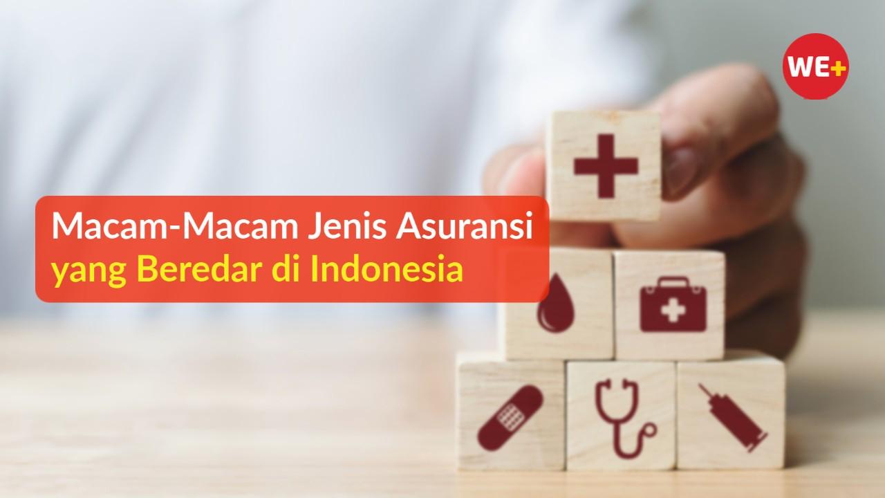 Macam-Macam Jenis Asuransi yang Beredar di Indonesia