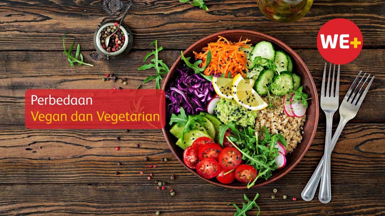 Perbedaan Vegan dan Vegetarian