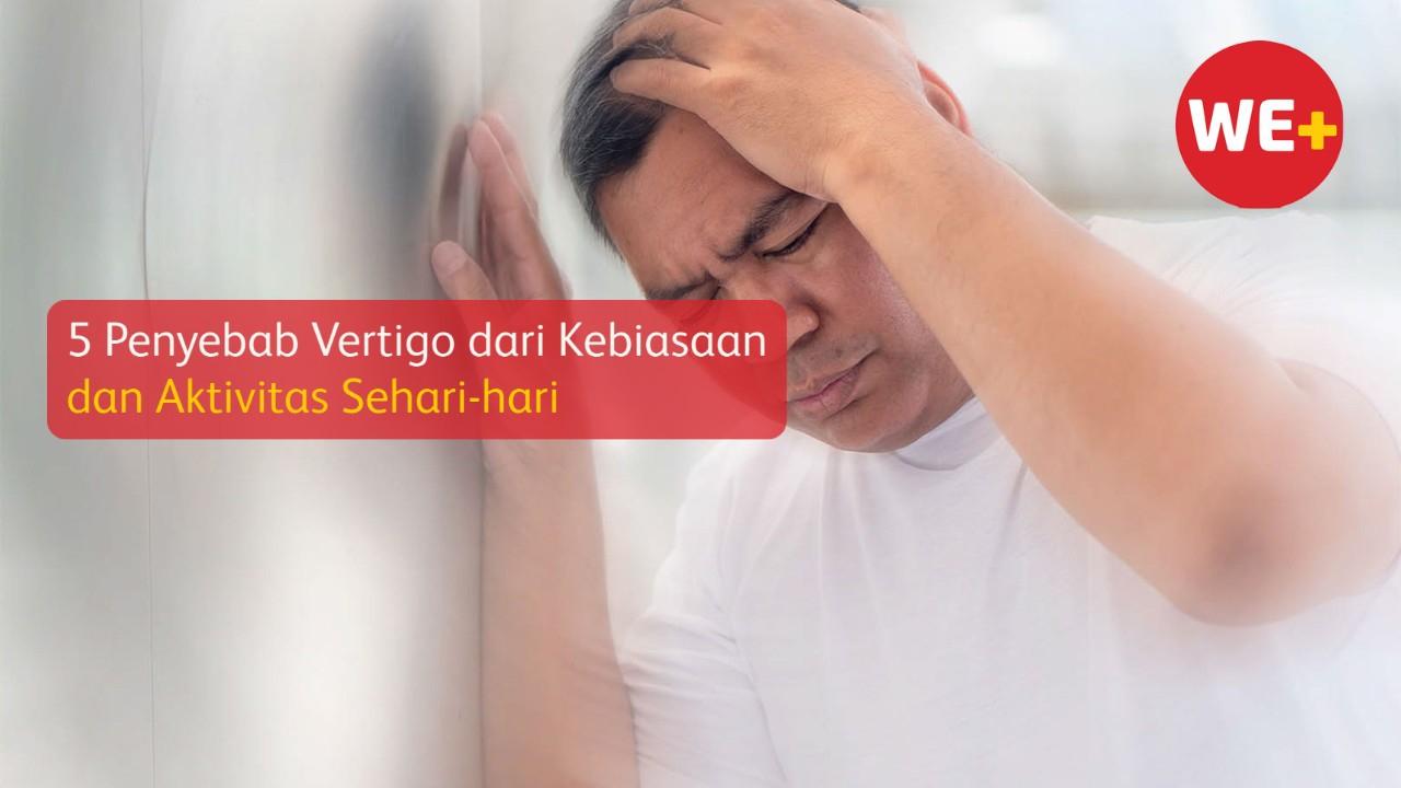 5 Penyebab Vertigo dari Kebiasaan dan Aktivitas Sehari-hari