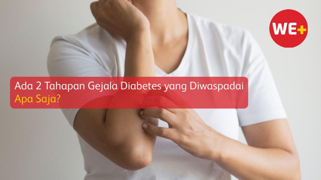 Ada 2 Tahapan Gejala Diabetes yang Diwaspadai, Apa Saja?