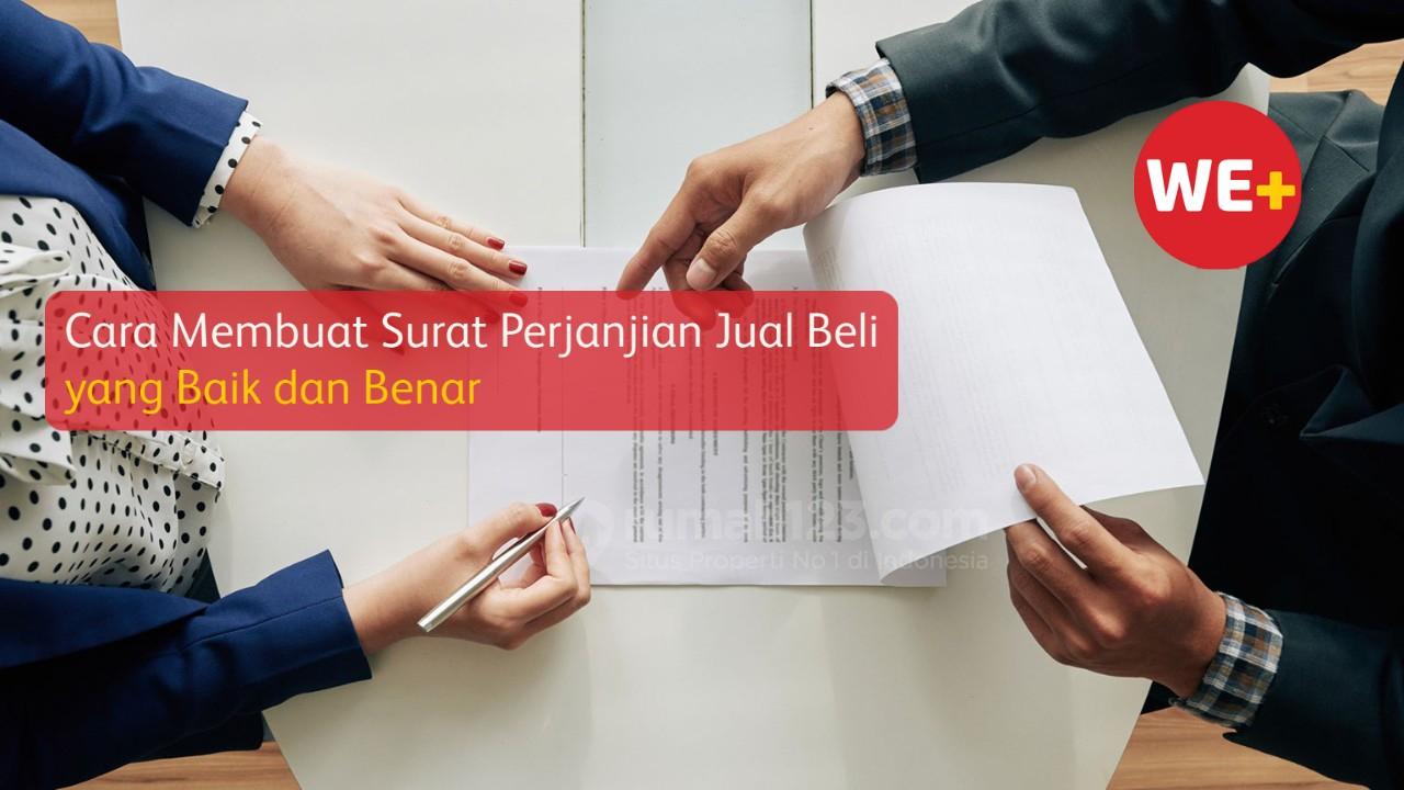 Cara Membuat Surat Perjanjian Jual Beli yang Baik dan Benar