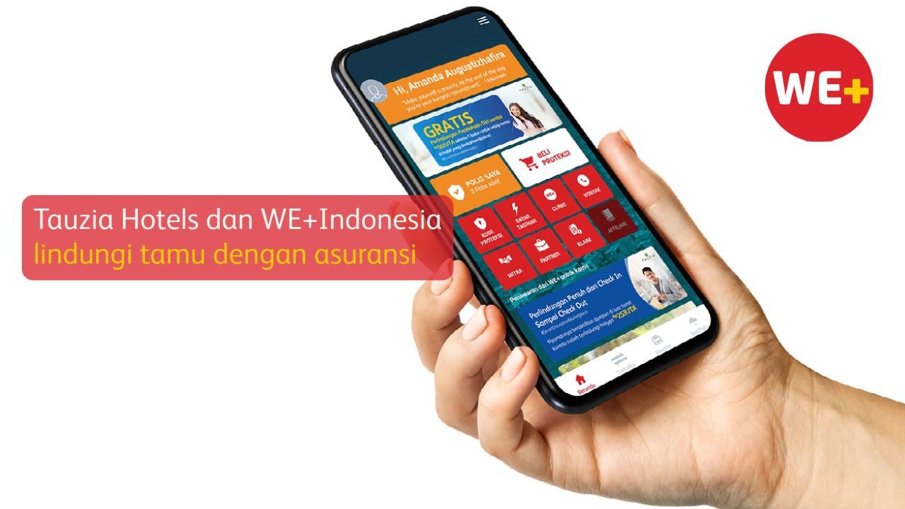 Tauzia Hotels dan WE+Indonesia lindungi tamu dengan asuransi (lampung.antaranew)