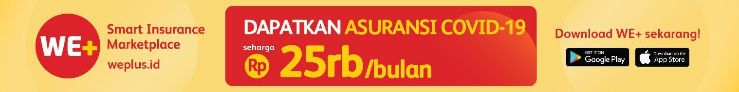 Asuransi COVID-19 hanya Rp 25.000 per bulan