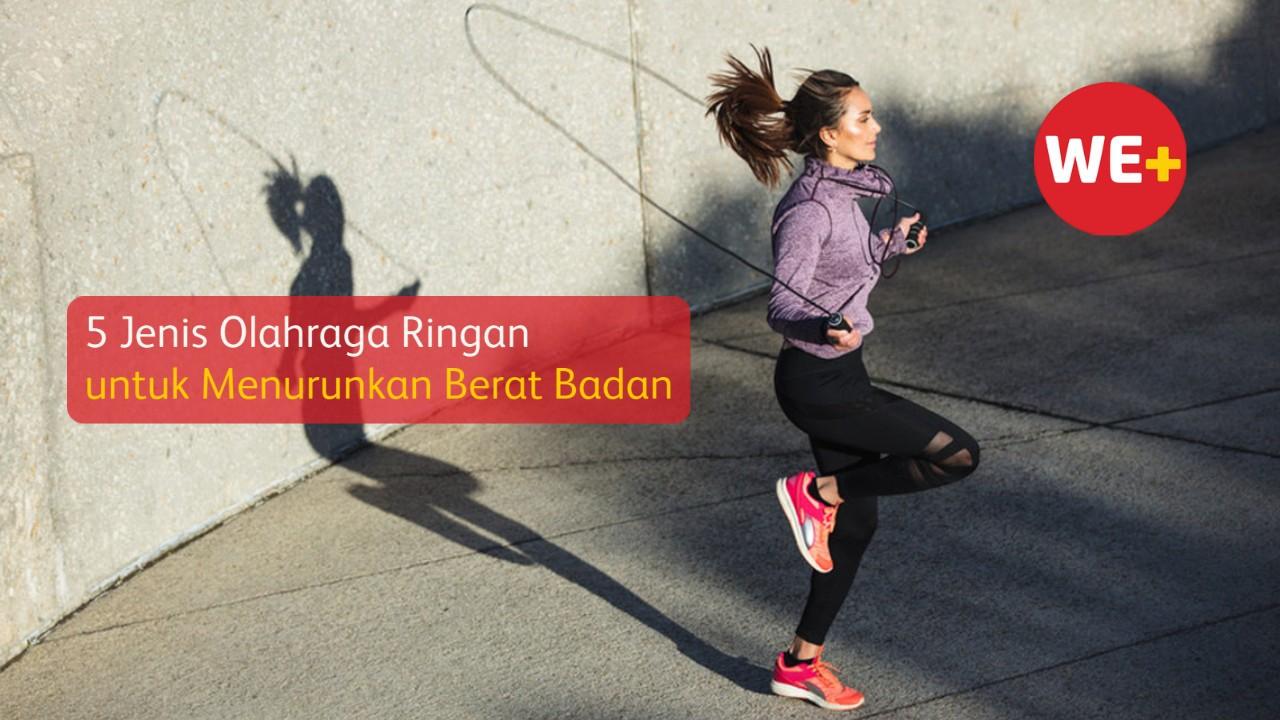 5 Jenis Olahraga Ringan untuk Menurunkan Berat Badan