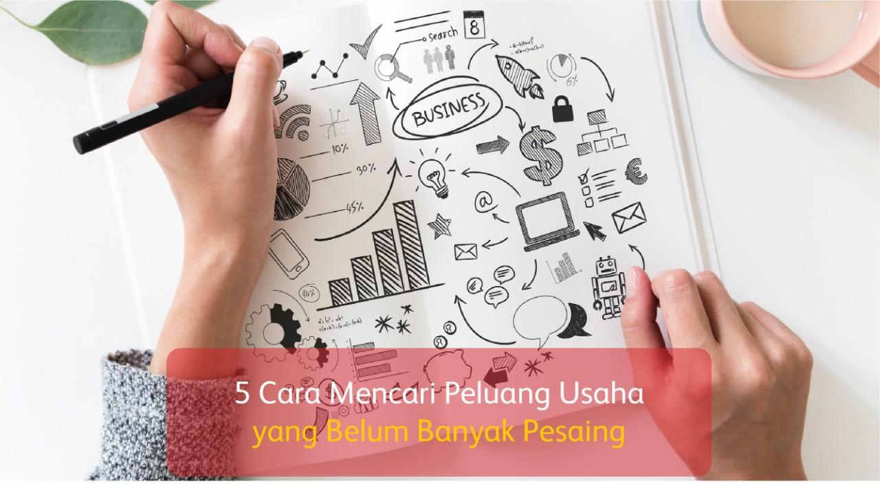 5 Cara Mencari Peluang Usaha yang Belum Banyak Pesaing