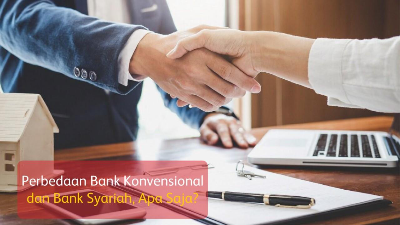 Perbedaan Bank Konvensional dan Bank Syariah, Apa Saja?