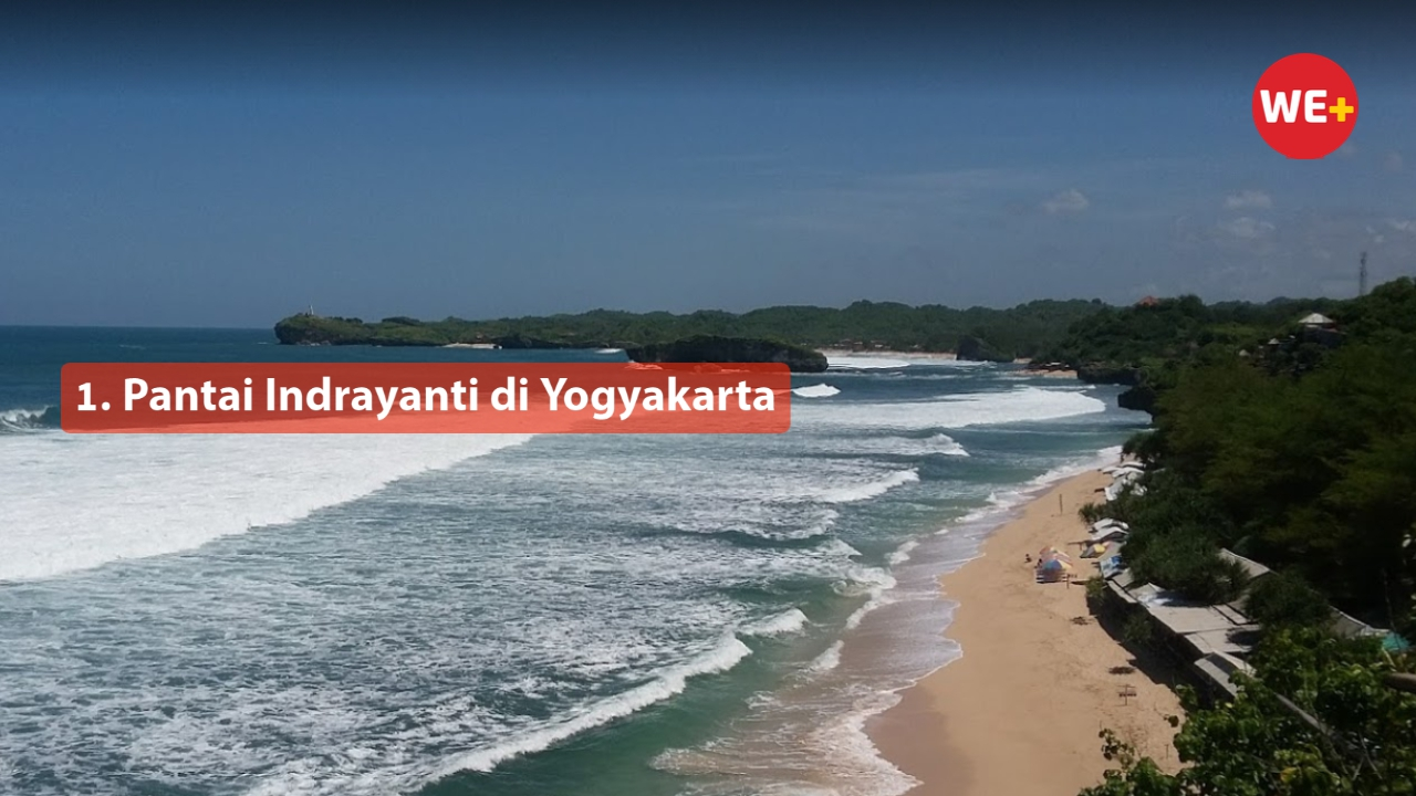 1. Pantai Indrayanti di Yogyakarta