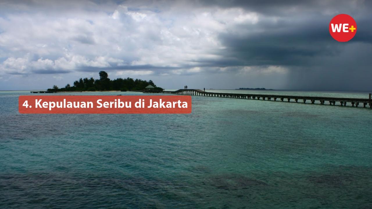 4. Kepulauan Seribu di Jakarta