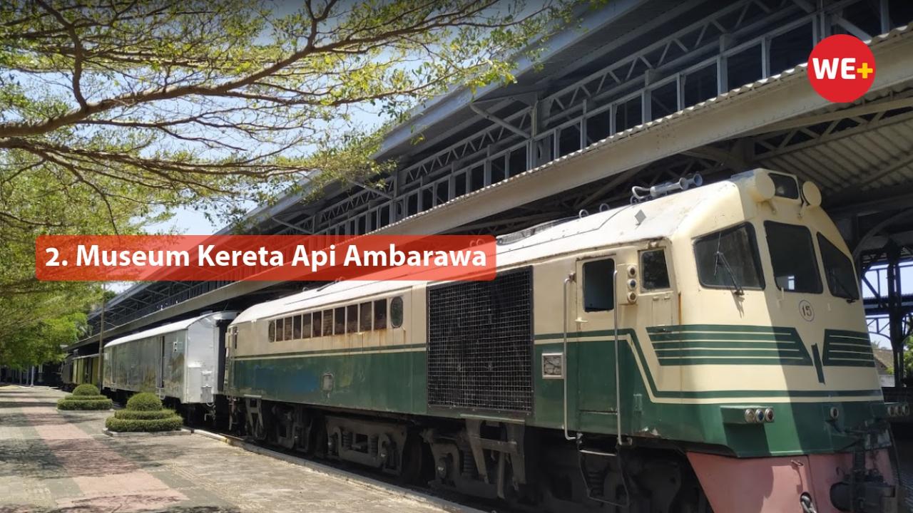 2. Museum Kereta Api Ambarawa